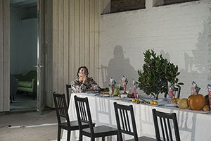 Nunnery Gallery, Anti Kougia, Mafalda Miranda, asparagus, bow arts