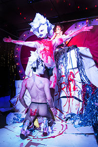 Deep Trash, royal, london, live art, queer, cuntemporary, bethnal green, Giualia Casalini, Diana Georgiou, Jonny Woo