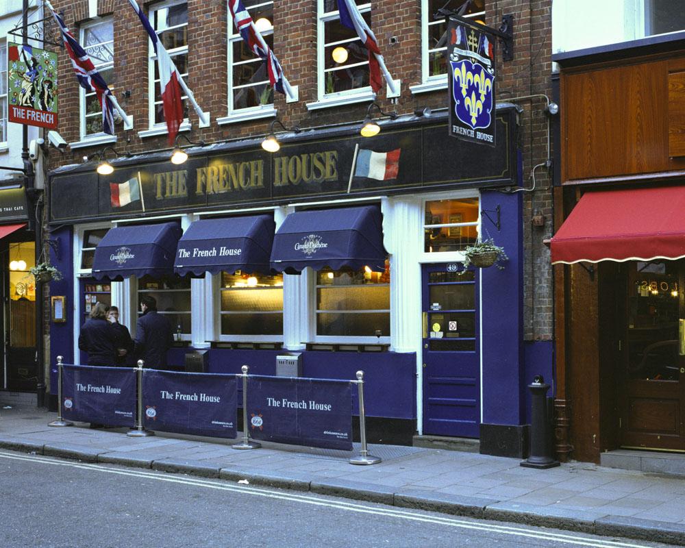 Francis Bacon, London, Soho, The French, Pub